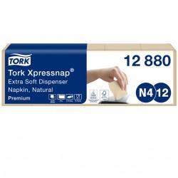 Servetten Tork Xpressnap extra zacht 21.3×16.5 naturel 1000st