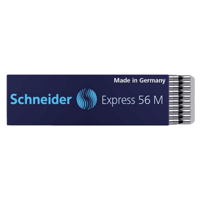 Balpenvulling Schneider tbv 4kleuren balpen zwart medium