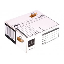 Postpakketbox 1 CleverPack 146x131x56mm wit