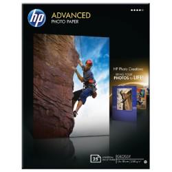 Inkjetpapier HP Q8696A 13x18cm photo glossy 250gr 25vel