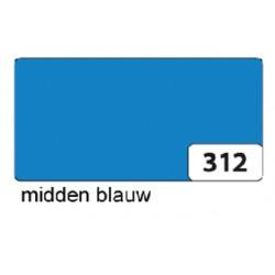 Etalagekarton folia 48x68cm 380gr nr312 middenblauw