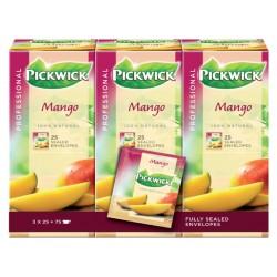 Thee Pickwick mango 25 zakjes van 1.5gr
