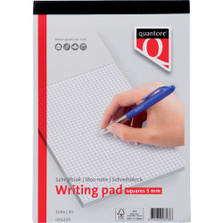 Schrijfblok Quantore A5 ruit 5mm