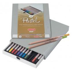 Kleurpotloden Bruynzeel 8840 Design pastel 12stuks assort