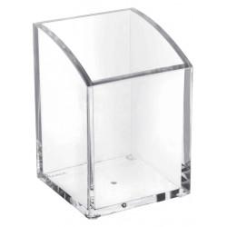 Pennenkoker Maul vierkant acryl glashelder