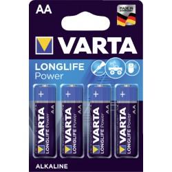Batterij Varta Longlife Power 4xAA