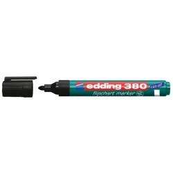 Viltstift edding 380 flipover rond zwart 1.5-3mm