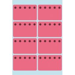 Etiket Herma 3772 26x40mm diepvries rood 48stuks