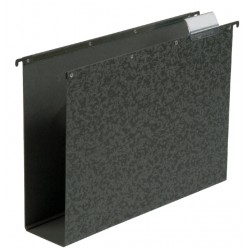 Hangmap Elba Vertic folio 80mm hardboard zwart