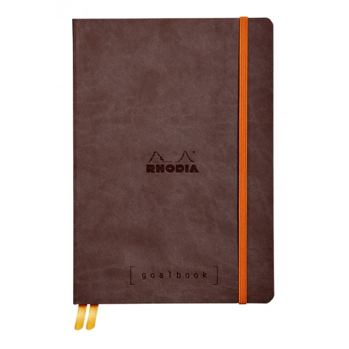 Bullet Journal Rhodia A5 120vel dots chocolade bruin