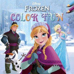 Kleurboek Deltas Disney Frozen color fun