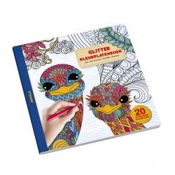 Kleurboek glitter animals