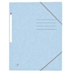 Elastomap Oxford Top File+ A4 pastel blauw