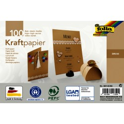Kraftpapier Folia din A5 120gr