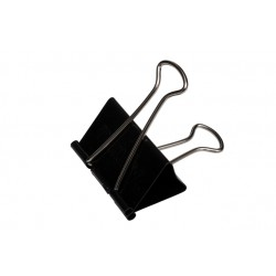 Papierklem MAUL 215 foldback 51mm capaciteit 25mm zwart