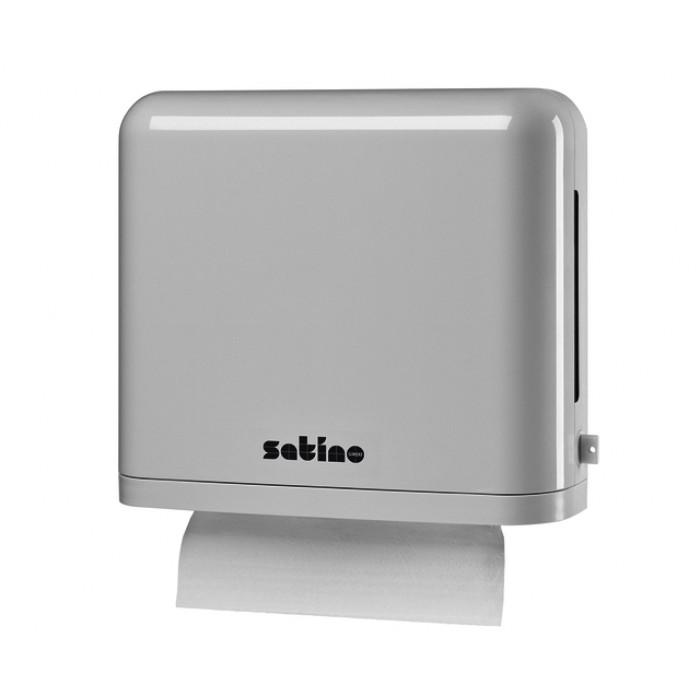 Dispenser Satino 331030 PT2 Vouwhanddoeken Z/W-vouw