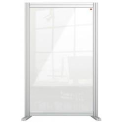 Bureauscherm Nobo Modulair transparant acryl 600x1000mm