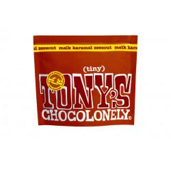 Chocolade Tony's Chocolonely Tiny melk karamel zeezout 180g zak à 20 stuks