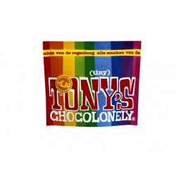 Chocolade Tony's Chocolonely Tiny mix 180g zak à 20 stuk