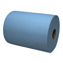 Handdoekrol Euro Mini 2L 18cmx165m blauw 6rol