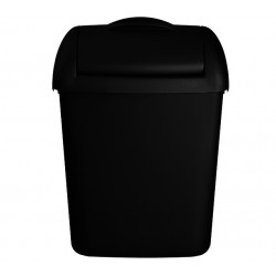 Afvalbak Euro Hygienebak 8 liter zwart