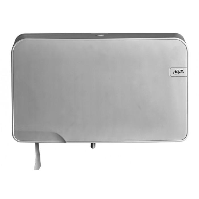 Dispenser Euro Quartz toiletrolhouder mini wit