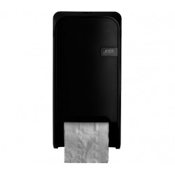 Dispenser Euro Quartz toiletrolhouder doprol zwart