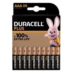 Batterij Duracell Plus 20xAAA
