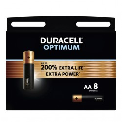 Batterij Duracell Optimum 8xAA