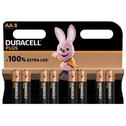 Batterij Duracell Plus 8xAA