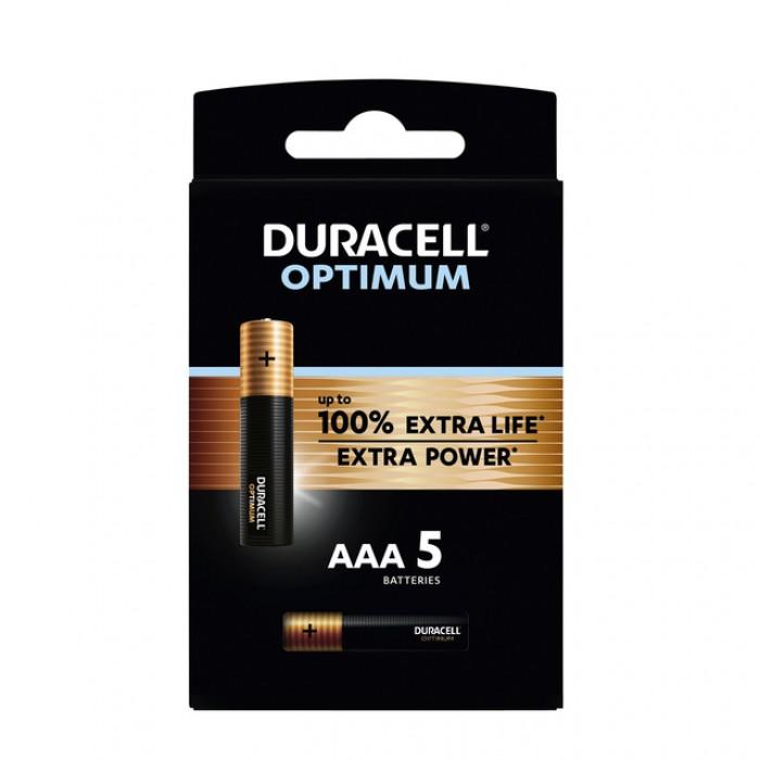 Batterij Duracell Optimum 5xAAA