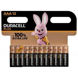 Batterij Duracell Plus 12xAAA