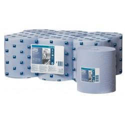 Poetsrol Tork M2 128208 1laags 20cmx320m blauw 6rollen