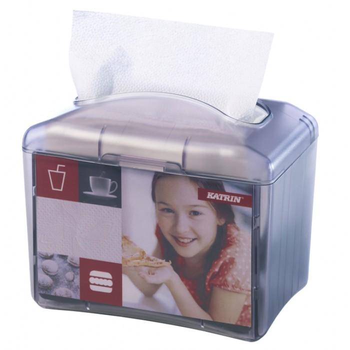 Dispenser Katrin 22564 doeken Easy1 transparant