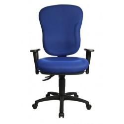 Bureaustoel Topstar Wellpoint 30 SY blauw