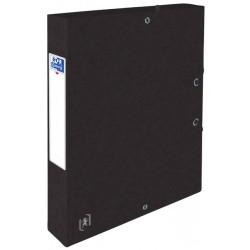 Elastobox Oxford Top File+ A4 40mm zwart