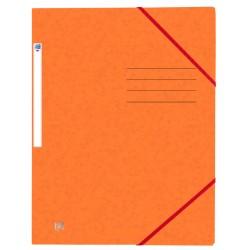 Elastomap Oxford Top File+ A4 oranje