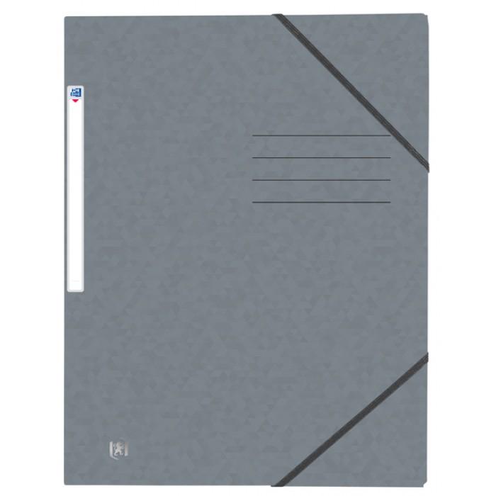 Elastomap Oxford Top File+ A4 grijs