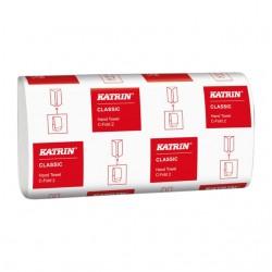 Handdoek Katrin 343275 C-Fold Classic 2laags 33x24cm 125st