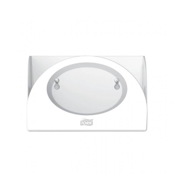 Dispenser Tork W8 655100 voor gevouwen reinigingsdoeken wit