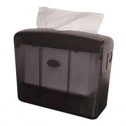 Dispenser Euro tafelmodel multifold handdoeken zwart