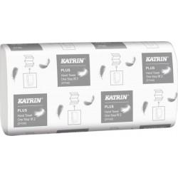 Handdoek Katrin 345379 Easy Flush Plus one stop 2laags 20x25cm