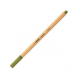 Fineliner STABILO point 88/37 modder groen
