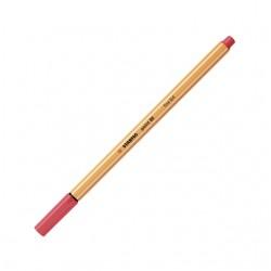 Fineliner STABILO point 88/47 roestig rood