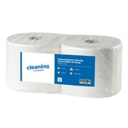 Poetsrol Industrie Cleaninq 26,5cmx380m wit 2l