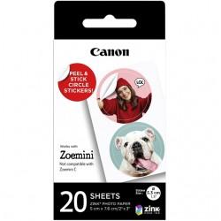 Fotopapier Canon Zoemini ZP-2030-2C 20vel