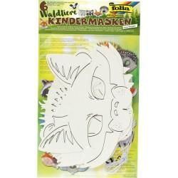 Dierenmasker Folia assorti