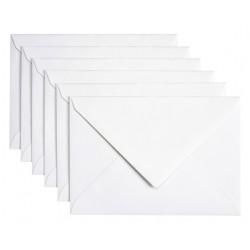 Envelop Papicolor C6 114x162mm Parelwit