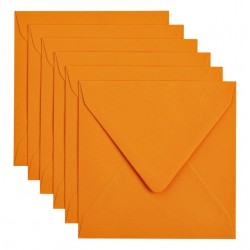 Envelop Papicolor 140x140mm Oranje