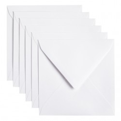 Envelop Papicolor 140x140mm Kraft wit